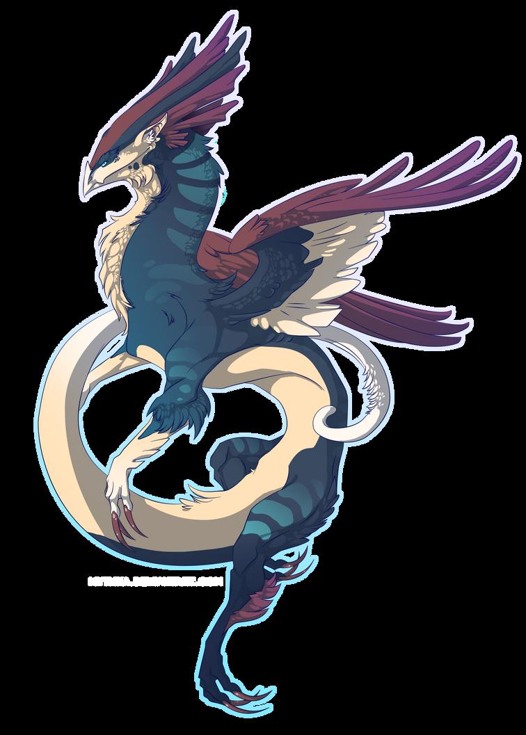 Random Dragon 8 (2013) by Mythka