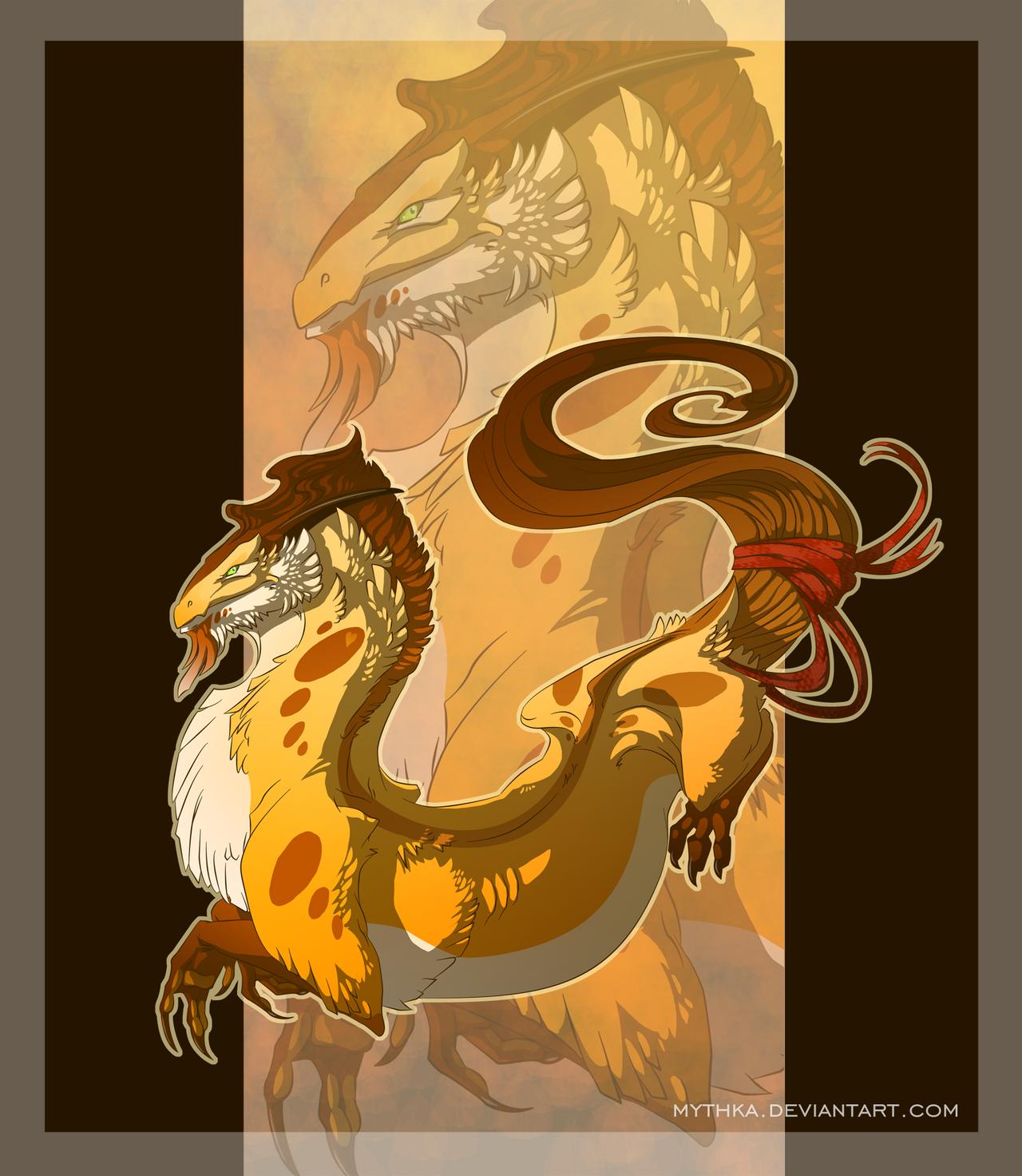 Autumn Dragon by Mythka