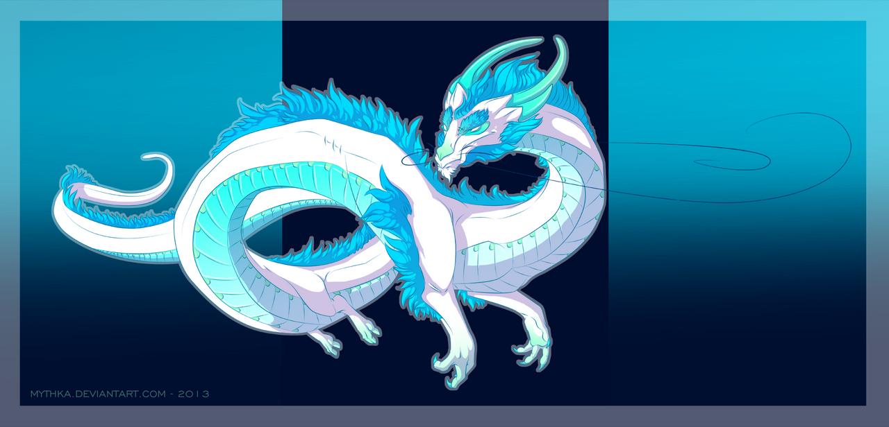 Dragon Design Commission by Mythka