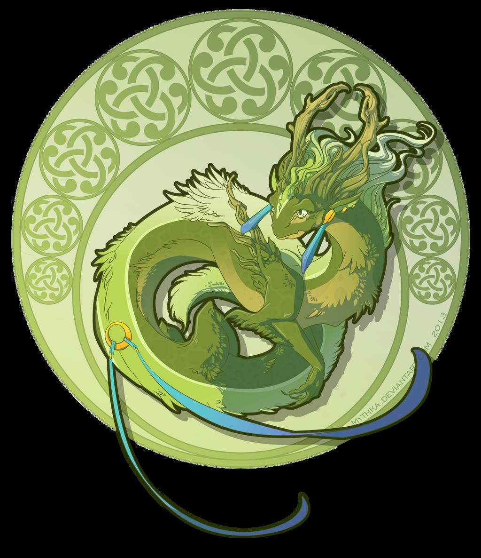 Woodlands Dragon by Mythka