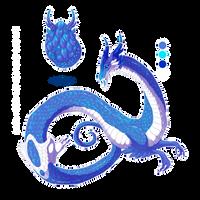 Hatched Dragon Egg 002 by Mythka