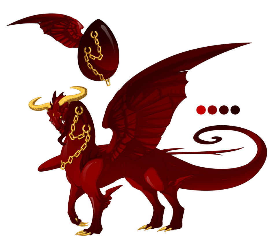 Hatched Dragon Egg 004 by Mythka
