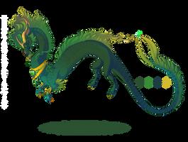 Prize Dragon 2 of 4 by Mythka