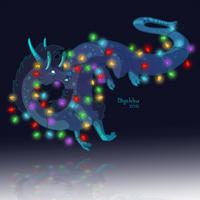 Dragon-A-Day (Dec 22) by Mythka