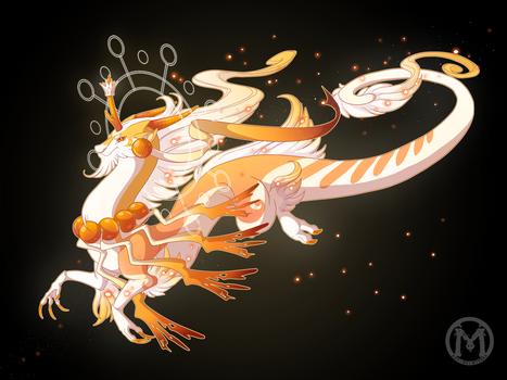 Dragon-A-Day JAN1 - The Sun