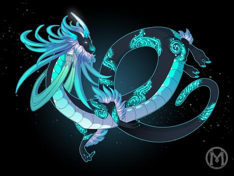 Dragon-A-Day JAN15 - Aurora