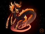 Dragon-A-Day JAN19 - Blood Moon