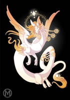 Dragon-A-Day 032 - Light by Mythka