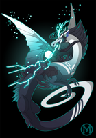 Dragon-A-Day 045 - Storm by Mythka