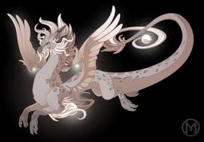 Dragon-A-Day 050 - Dust by Mythka