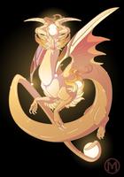 Dragon-A-Day 051 - Metal by Mythka
