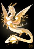 Dragon-A-Day 052 - Thunder by Mythka
