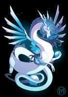 Dragon-A-Day 053 - Ice by Mythka