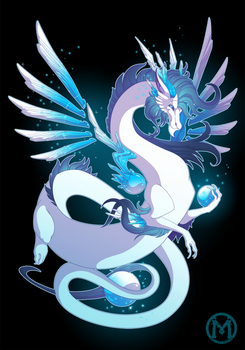 Dragon-A-Day 053 - Ice