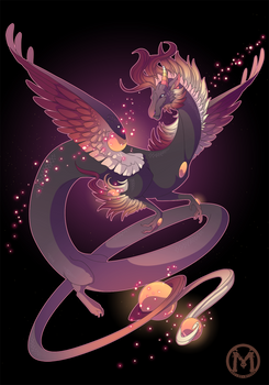 Dragon-A-Day 057 - Ember