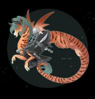Dragon-A-Day 100 by Mythka