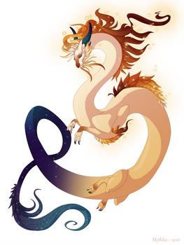 Dragon-A-Day 142 (Solar Storm)