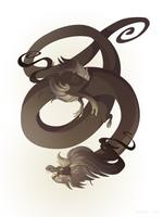 Dragon-A-Day 143 (Tornado) by Mythka