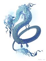 Dragon-A-Day 146 (Monsoon) by Mythka
