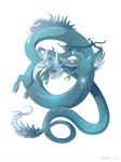 Dragon-A-Day 147 (Tsunami)