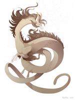 Dragon-A-Day 148 (Dust Storm) by Mythka