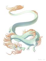Dragon-A-Day 150 (Downdraft) by Mythka