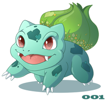 001: Bulbasaur by Mythka