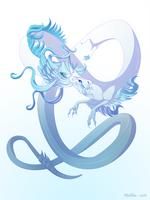 Dragon-A-Day 153 (Hail Storm) by Mythka