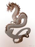 Dragon-A-Day 156 (Flood)