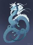 Dragon-A-Day 158 (Windstorm)