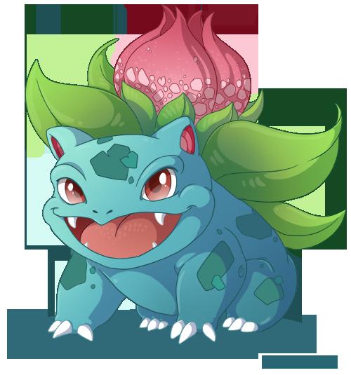 002: Ivysaur by Mythka