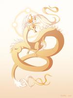 Dragon-A-Day 160 (Sundog) by Mythka