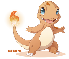 004: Charmander by Mythka