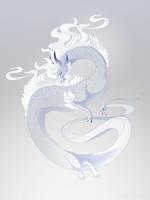 Dragon-A-Day 165 (Fog) by Mythka