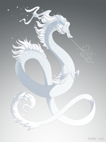 Dragon-A-Day 167 (Blizzard) by Mythka