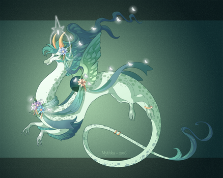 Dragon-A-Day 168 .Demeter.