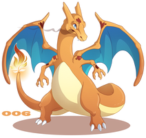 006: Charizard by Mythka