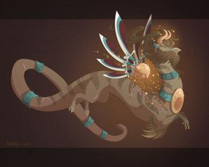 Dragon-A-Day 172 .Hephaestus.