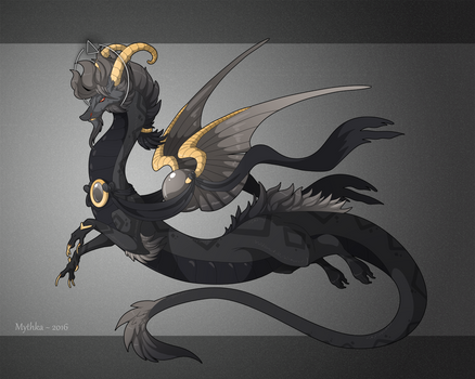 Dragon-A-Day 173 .Ares.