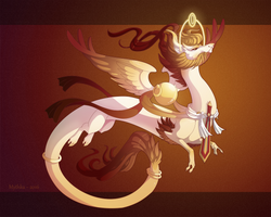 Dragon-A-Day 175 .Nemesis. by Mythka