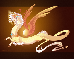 Dragon-A-Day 179 .Apollo. by Mythka