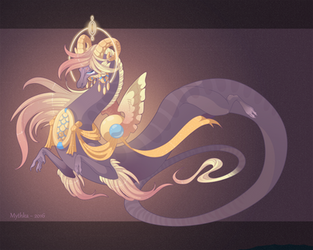 Dragon-A-Day 187 .Athena. by Mythka
