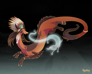 Dragon-A-Day 219 .Brave Indian Costume. by Mythka
