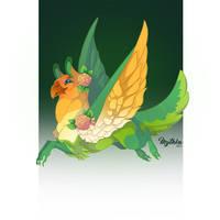 Pygmy Lovebird Griffon #27 by Mythka