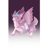 Cupid Peryton #34 by Mythka