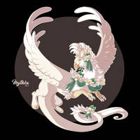 Magnolia Griffon #44 by Mythka