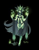 Felfire Djinn #61 by Mythka