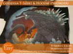 Godzilla T-Shirt and Hoodie (Pre-orders)