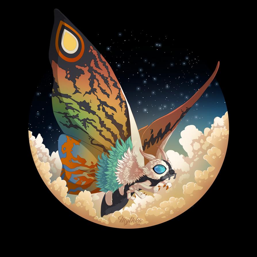 Mothra by Mythka