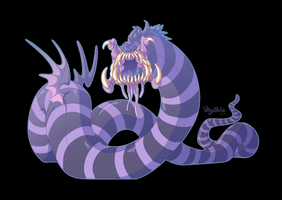 Purple People Eater - OCT 2 by Mythka